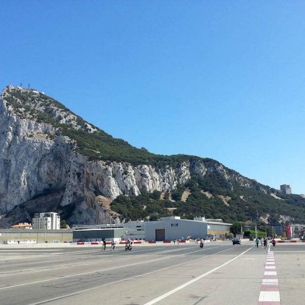 How far is…from Gibraltar Airport?
