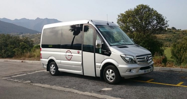 Mercedes minibus vehicle