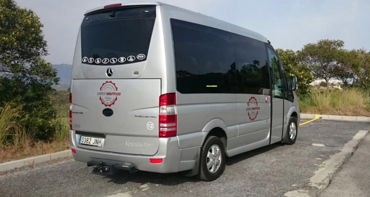 Simply Shuttles Vehicle
