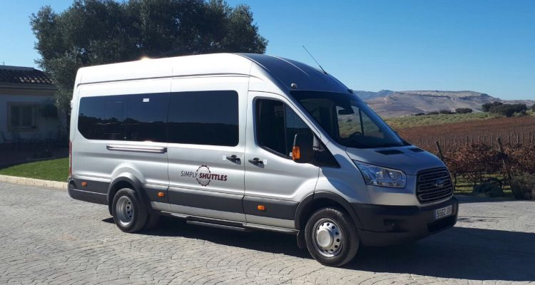 Simply Shuttles minibus