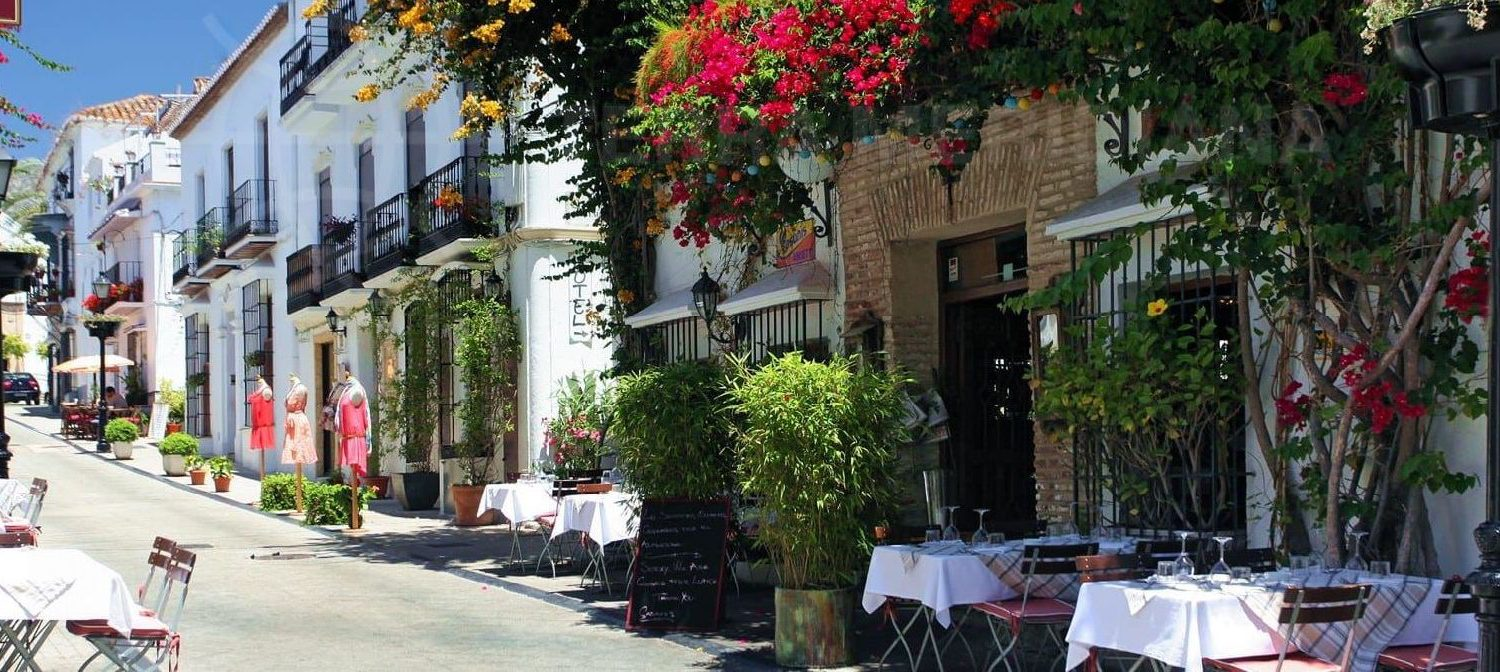 Dining in Marbella's Old Town